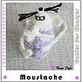 Serial crocheteuse 153 : la moustache de mouse touch'