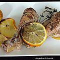 Poulet au thym et aux citrons