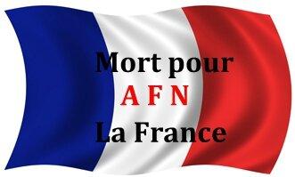 Mort pour la France A F N