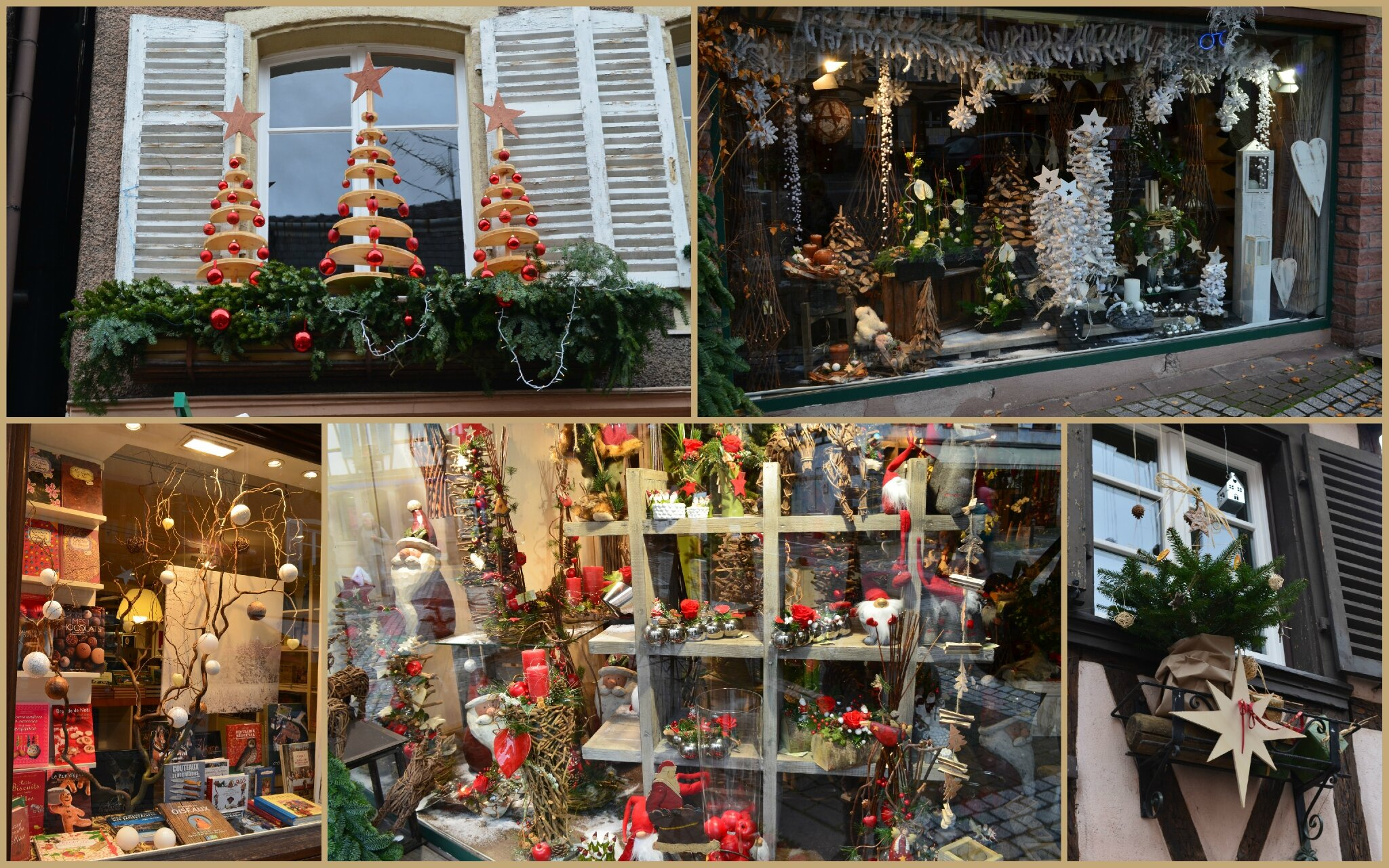 Deuxi me marche de no l en alsace a une fee d 39 hiver for Decoration fenetre noel pinterest