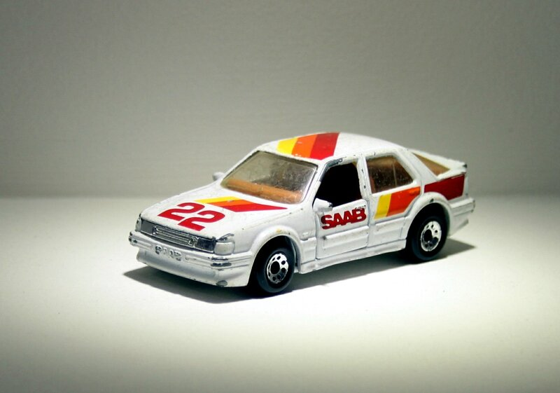 Saab 9000 turbo (Matchbox) 01