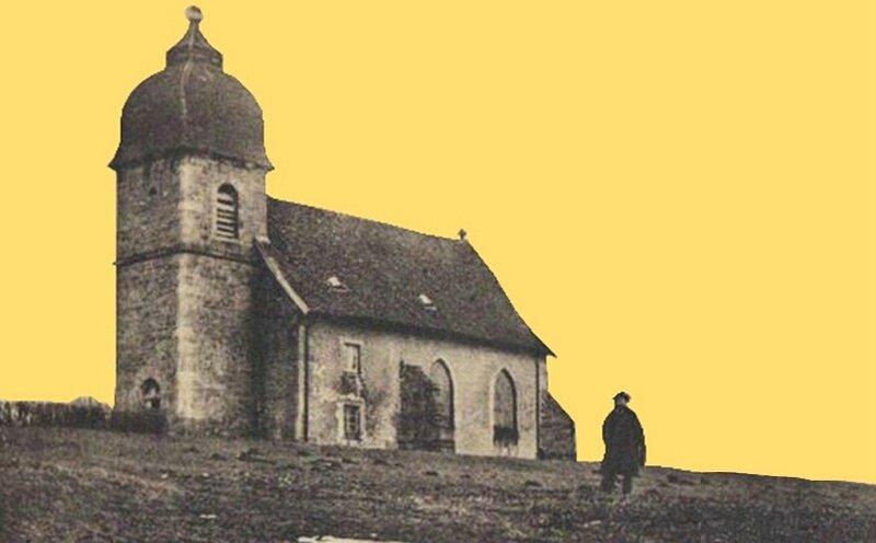 CPA Ronchamp Notre-Dame du Haut 1905dR