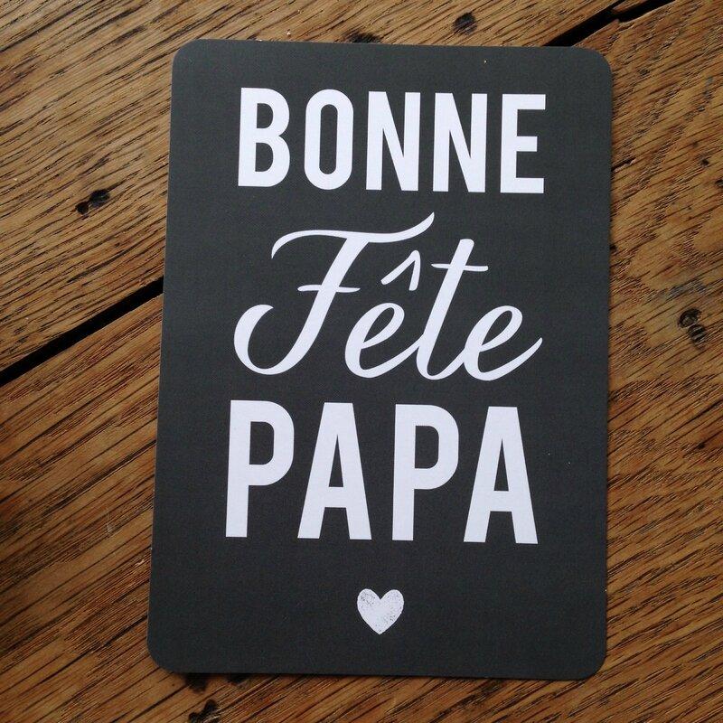 Bonne fête papa - Cinq mai