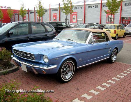 Ford mustang convertible 289 (Offenbourg) 01