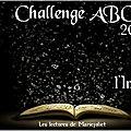 Bilan de clôture du challenge abc imaginaire 2016