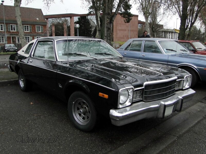 plymouth volare premier special edition coupe 1976 1977 a