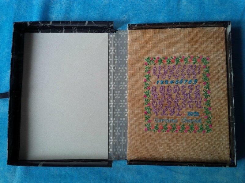 Intérieur boîte marquoir de Gigny - douceur 11
