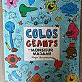 Livres activités enfants: monsieur-madame, robots...et émotion!!
