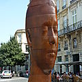 Jaume plensa à bordeaux