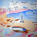 AQUARELLE BRETAGNE DIVERS - http://lodya.artgallery.free.fr