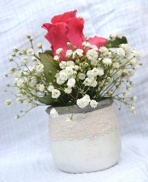 Petit pot de fleurs