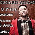 Bernard adamus en tournée en france (2013)