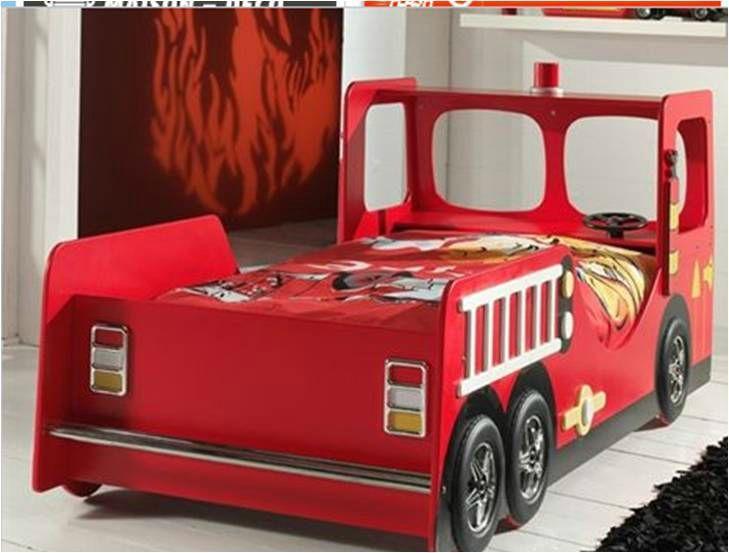 D cos mobiliers et jouets d mentiels pour les enfants rep rage shopping - Lit enfant camion de pompier ...