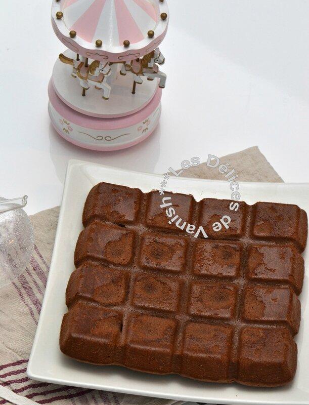 gateau legerement chocolaté, idée de gouter