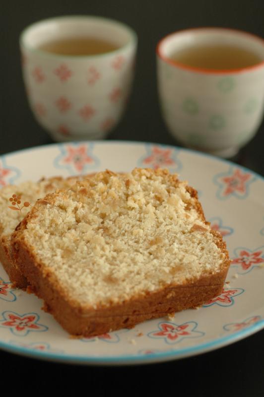 Cake fondant & moelleux pâte d'amande & noix de coco_10