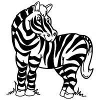 Coloriage z bre id coloriage - Zebre coloriage ...