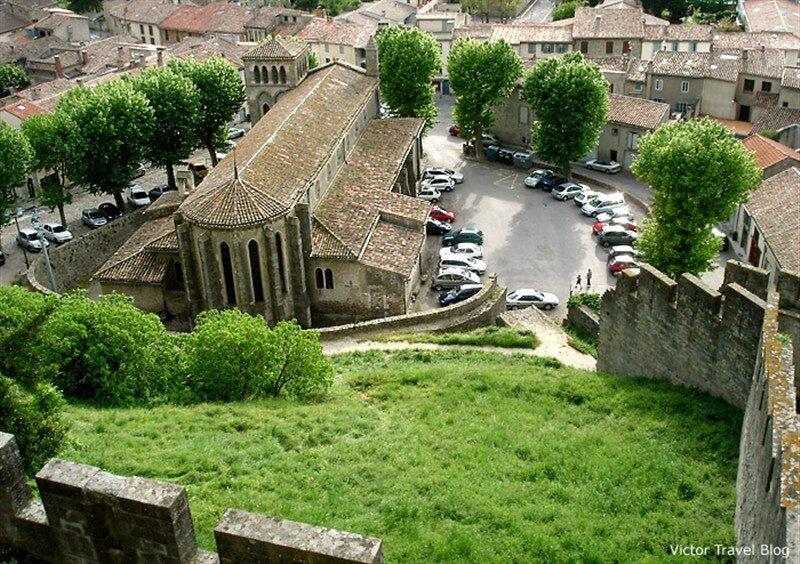 St Gimer depuis les remparts