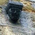 visage de pierre à La chatre