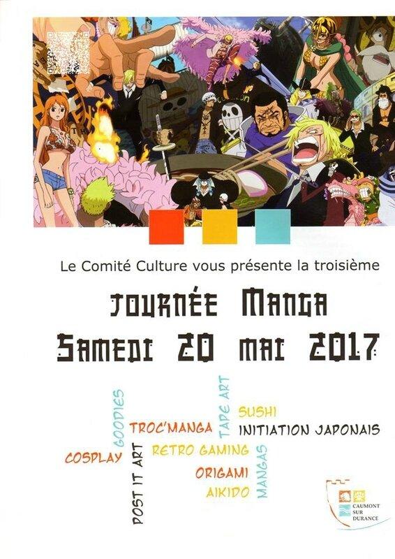 Journée Manga 21 mai 2017 - Médiathèque de Caumont-sur-Durance - Atelier origami Delphine Minassiam Songe d'elfe