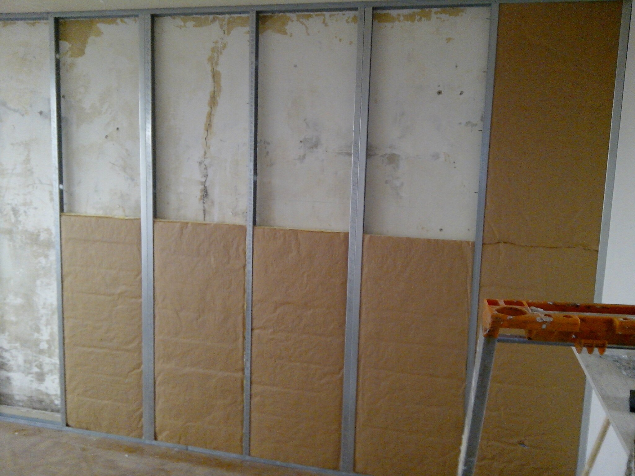 Isolation murs interieurs en renovation comment r nover for Isolation mur interieur renovation