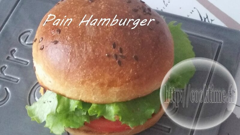 Pain Hamburger Thermomix