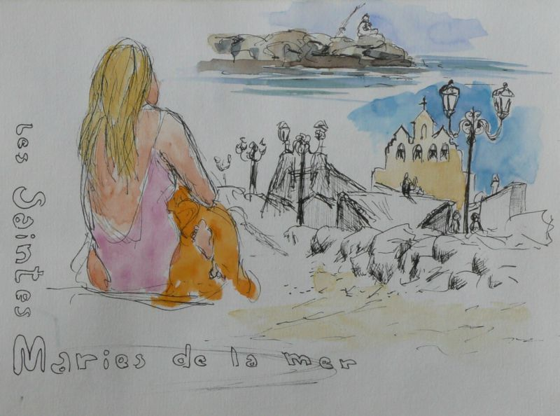 13-Les Saintes Maries de la Mer - plage -1