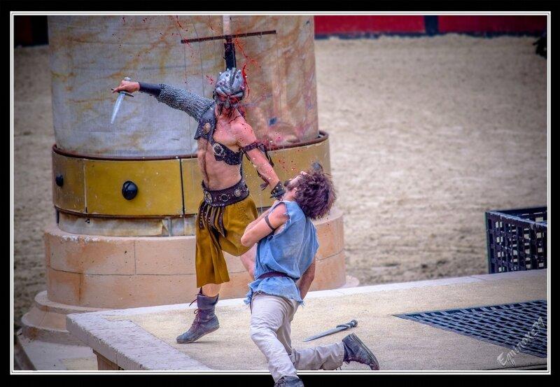 Gladiatorius, comment devenir Gladiateur (signe du triomphe puy du fou ) (6)