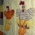 détail de mes poules !