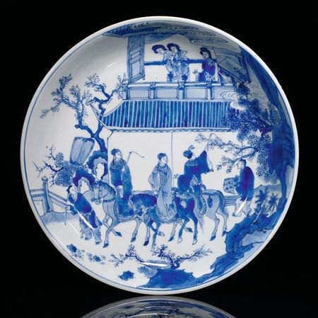 Kangxi Blue Amp White Porcelains Nagel Auctions Fine Asian Art May 7th 2010 Eloge De L Art