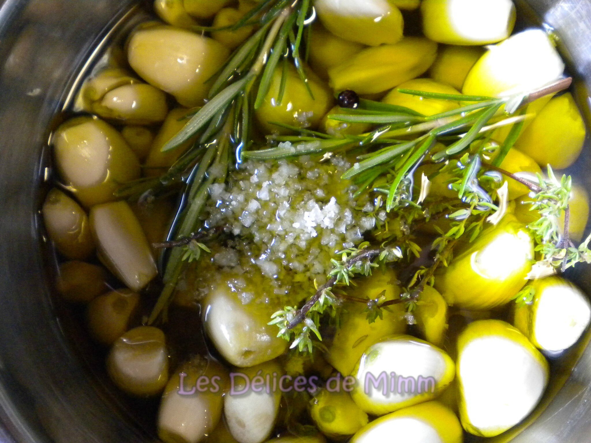 huile olive ail