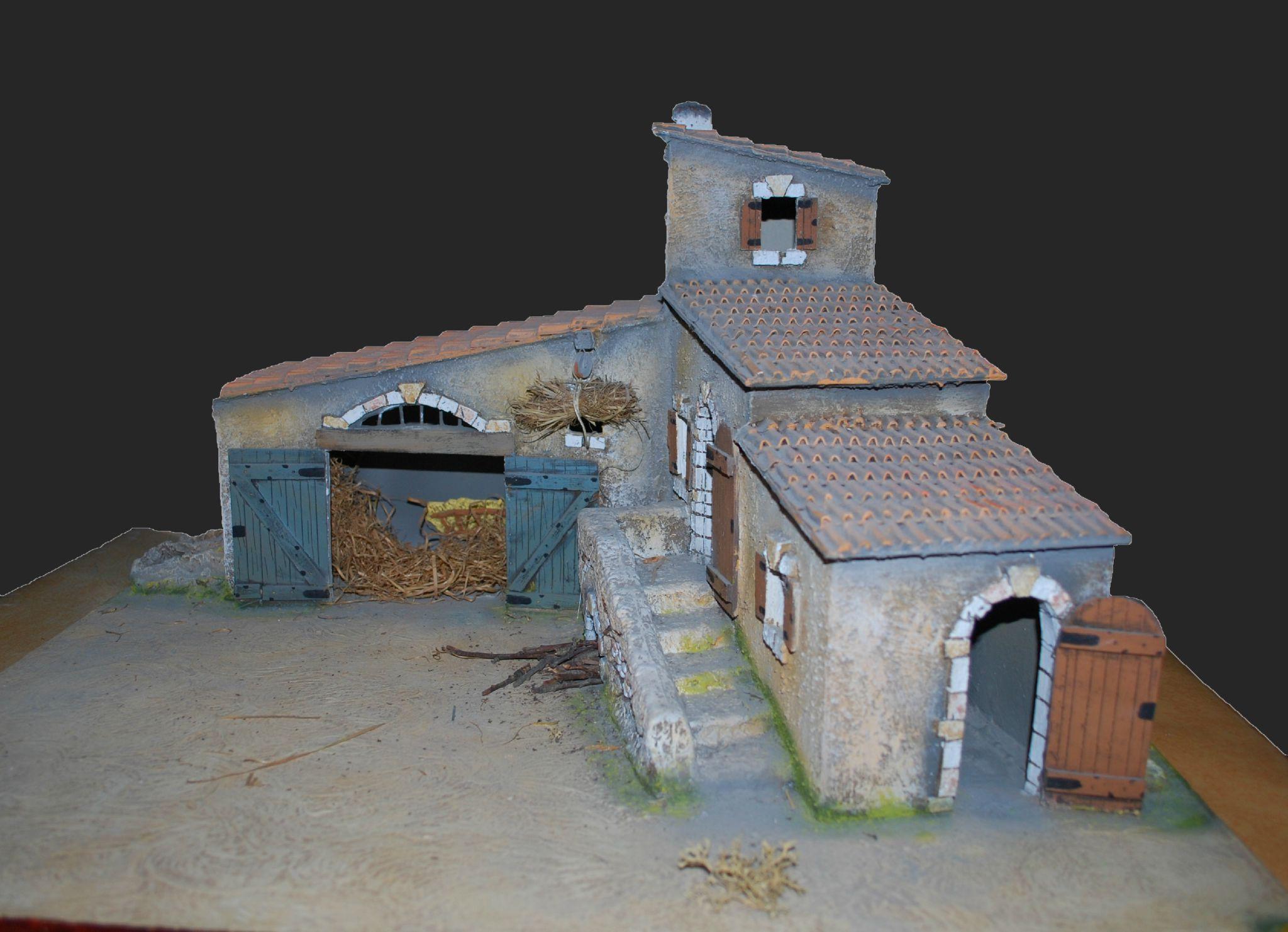 cr che construire la structure de la ferme sandrine dans tous ses tats. Black Bedroom Furniture Sets. Home Design Ideas