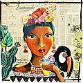 toile 100x100 cactus-toucan & pithaya- r c