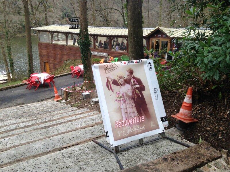 l'Autre café 2015 bar brocante lac Roche qui Boit 2015 ouverture