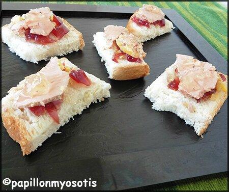 toast de foie gras et ses gelées_2