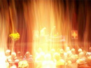 Vous êtes adombrés en permanence par le divin champ d'Amour (John Smallman)