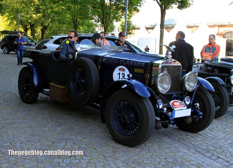 Delage D8 S open tourer de 1931 (Paul Pietsch Classic 2014) 01