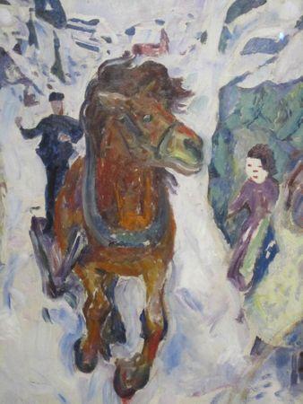 Cheval au galop 1910-1912