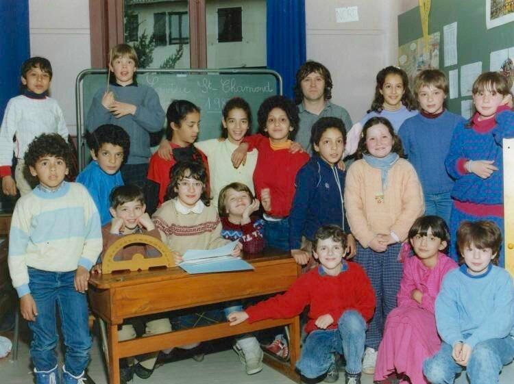 école Lavieu 1988