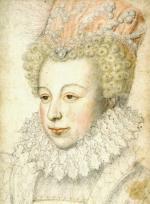 E5) Marguerite de Valois, vers 1575 (BnF)