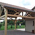 Saint-rémy-en-rollat (garages sur poteaux).