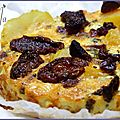 clafoutis au chorizo.