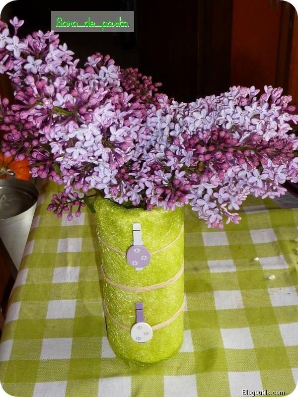 Un petit vase maison.....
