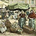 Marchande d'oignons