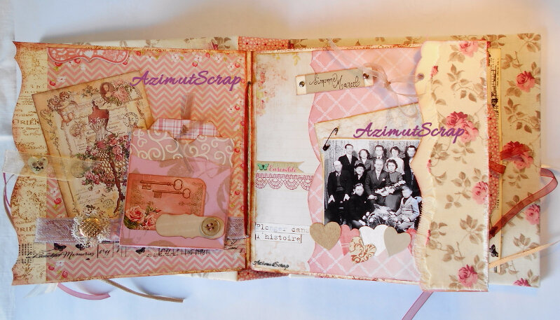 seconde page shabby chic