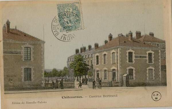 La caserne Bertrand (Entrée)