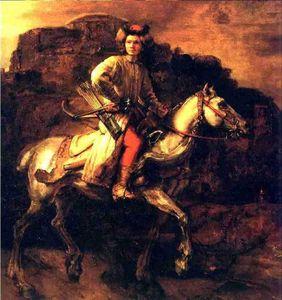 rembrandt_cavalier_polonais