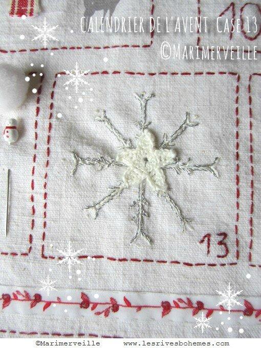 calendrier de l'avent case 13 Marimerveille