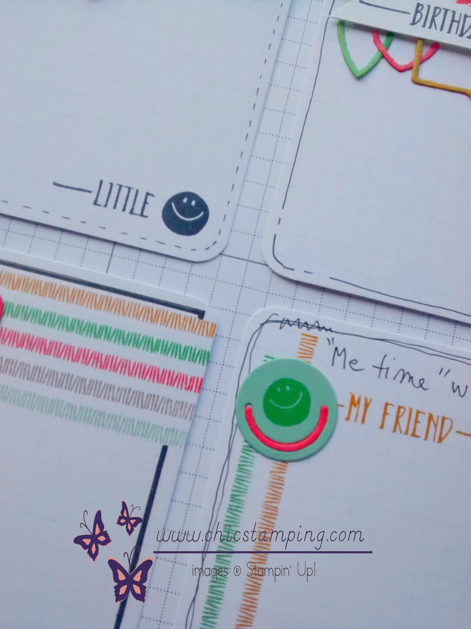 DIY project life card series paper clips - sneak peek
