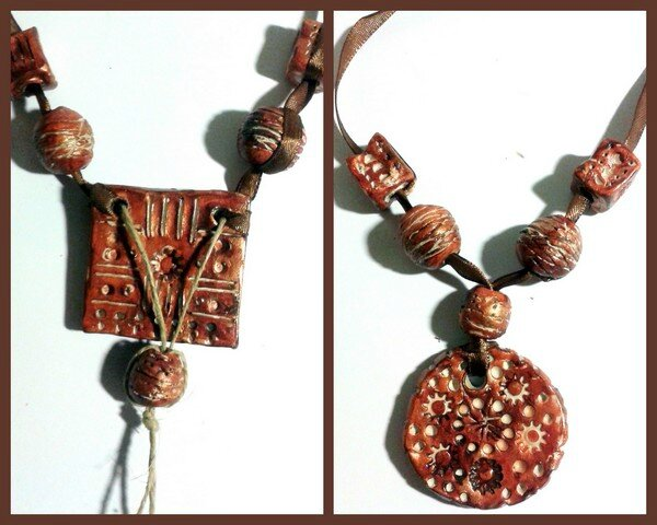 "Collier style ""africain"""