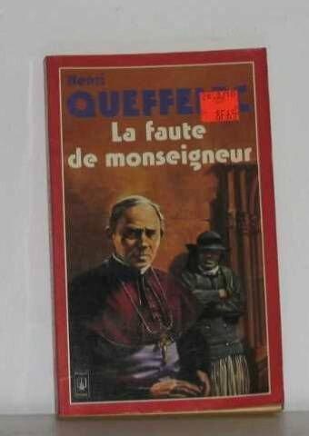La faute de Monseigneur